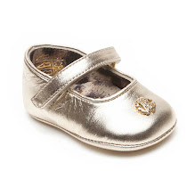 Roberto Cavalli Velcro Pram Shoe BAR SHOES
