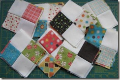 Charm Pack Quilt along stage 2 Completed