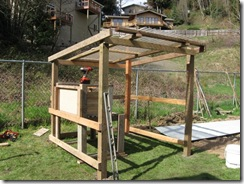 chicken coop day one 09