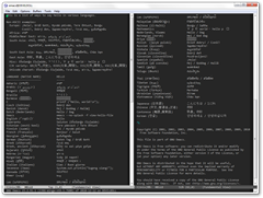 Emacs 23.2.91 HELLO