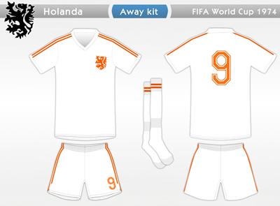 Holanda 1974 A