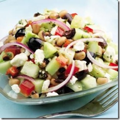 Cucumber Black Eyed Pea Salad