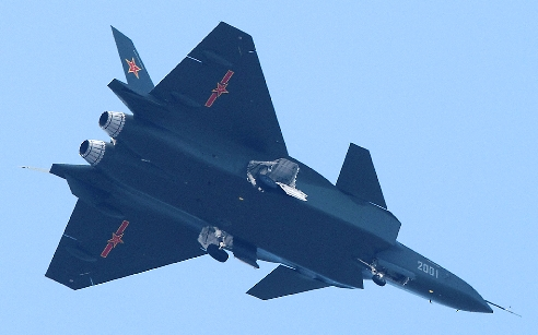 Pesawat siluman Chengdu J-20 gambar 7