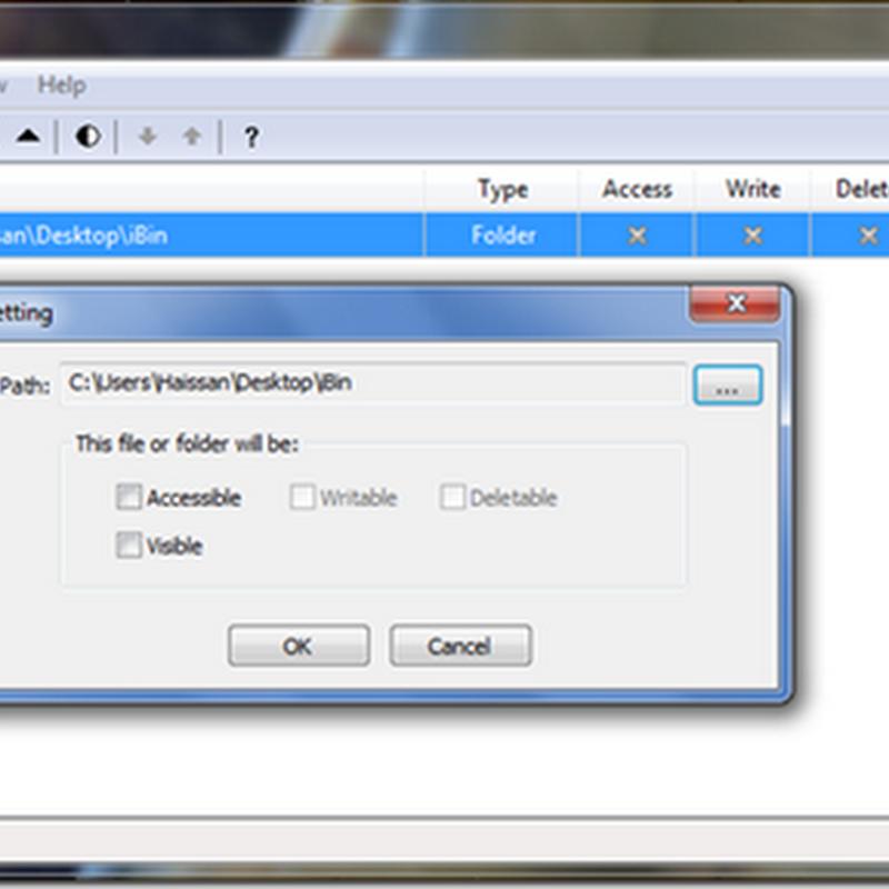 Bloquea archivos y carpetas con Easy File Locker