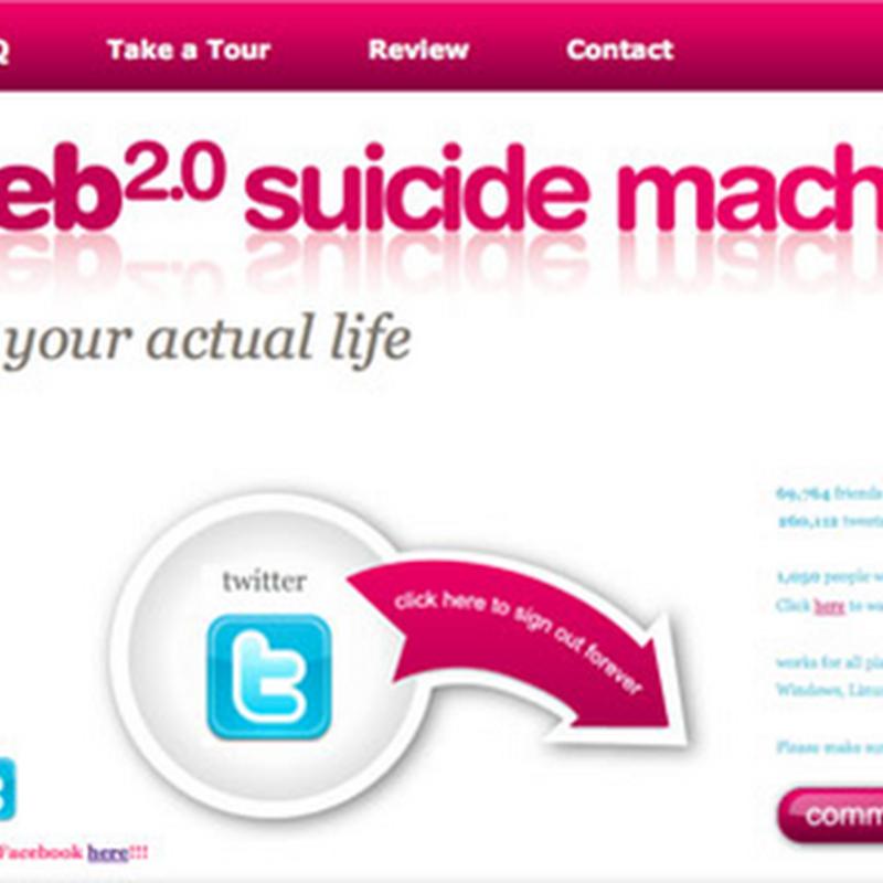 Web 2.0 suicide machine, mata tu cuenta de una red social