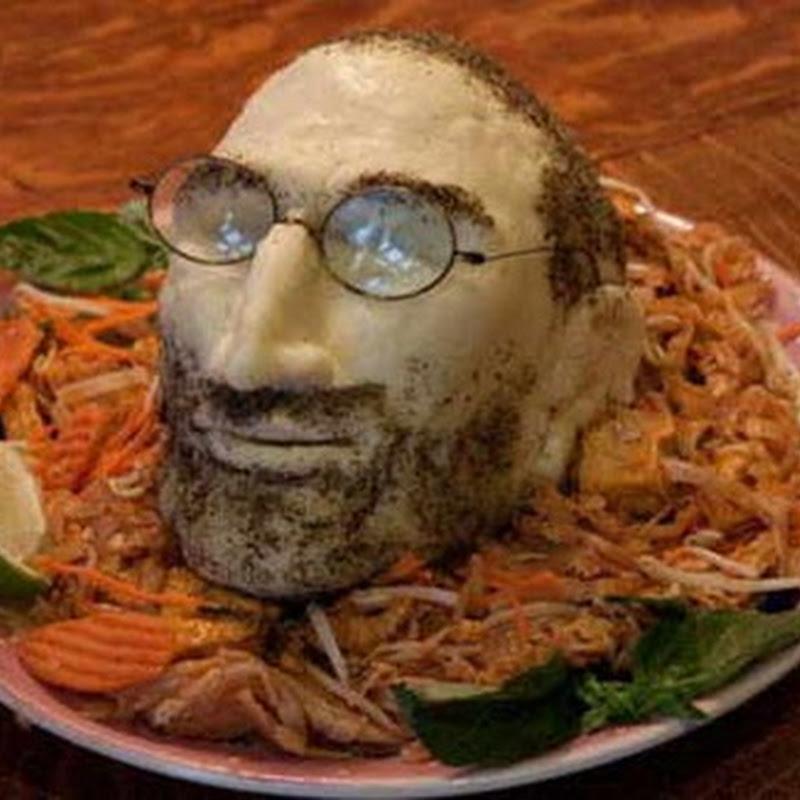 Creando un Steve Jobs de queso