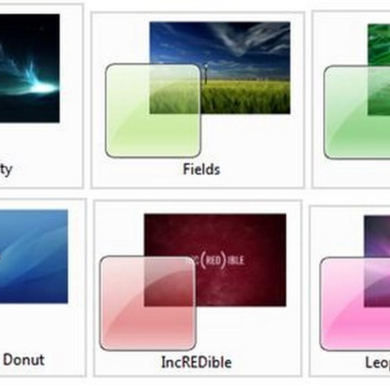 28 temas gratis para Windows 7