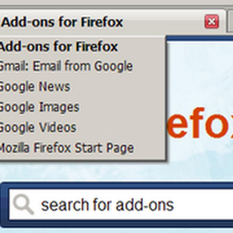 Ver historial de cada pestaña en Firefox