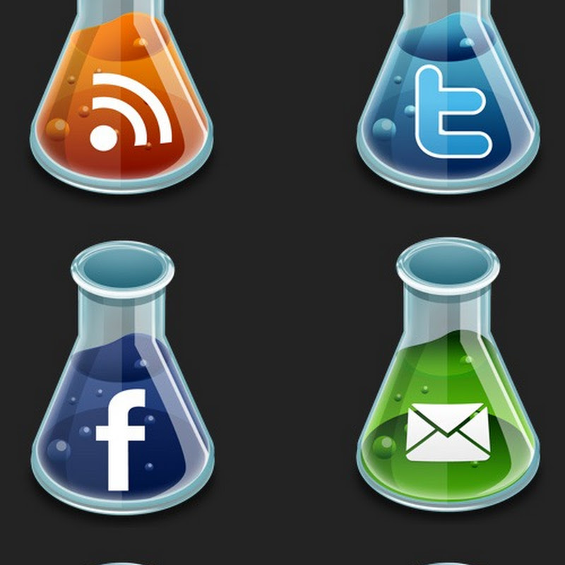 Íconos sociales muy químicos