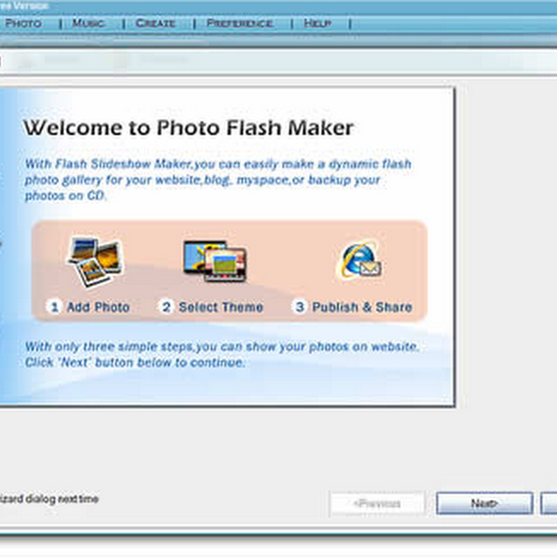Crea increíbles slideshows con Photo flash maker