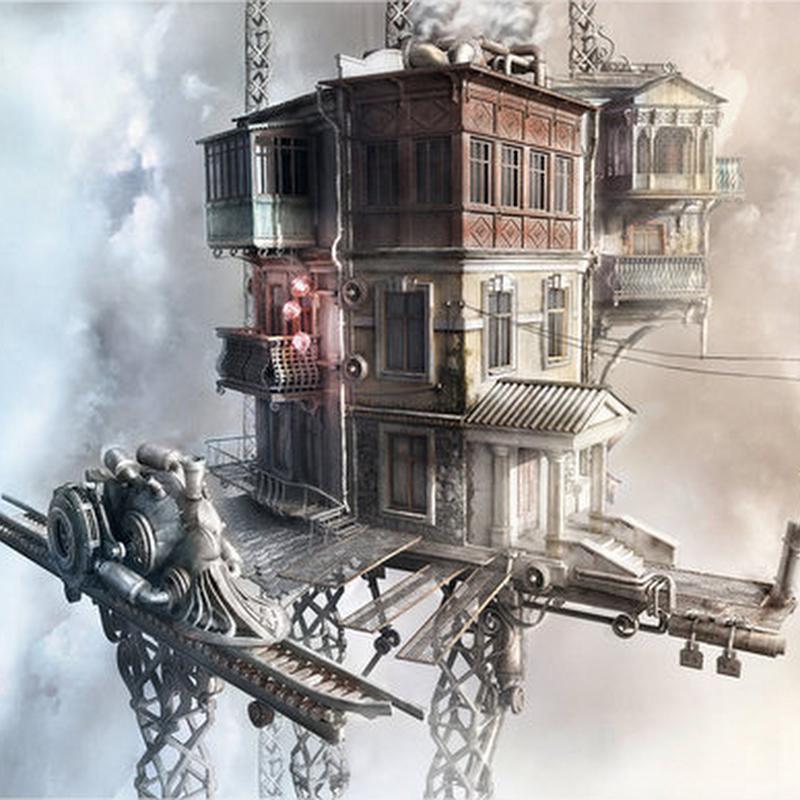 27 imágenes de edificios en 3D
