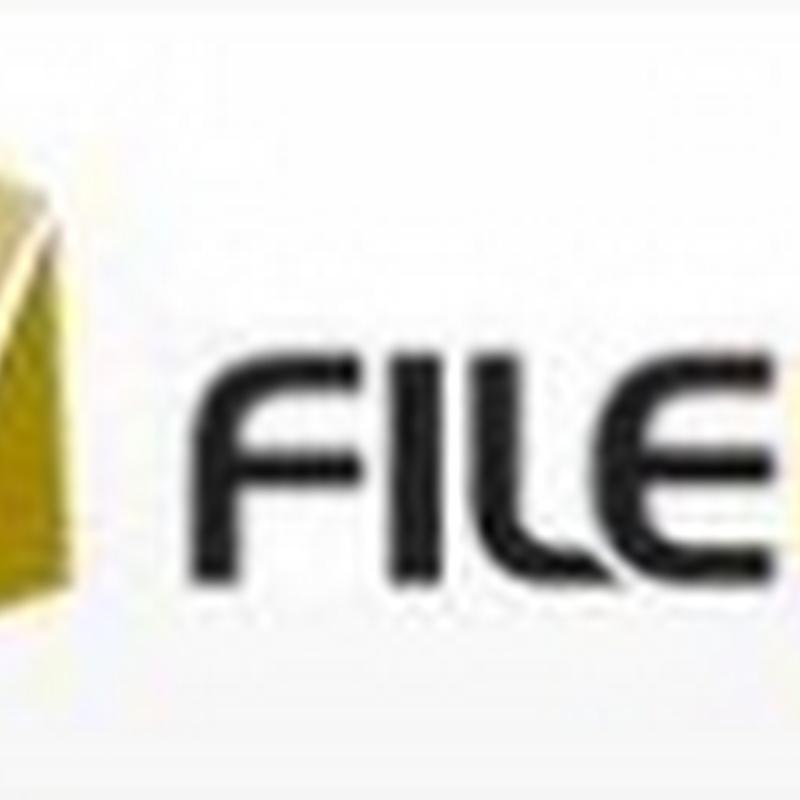 Filebox, sube tus archivos en 488 GB