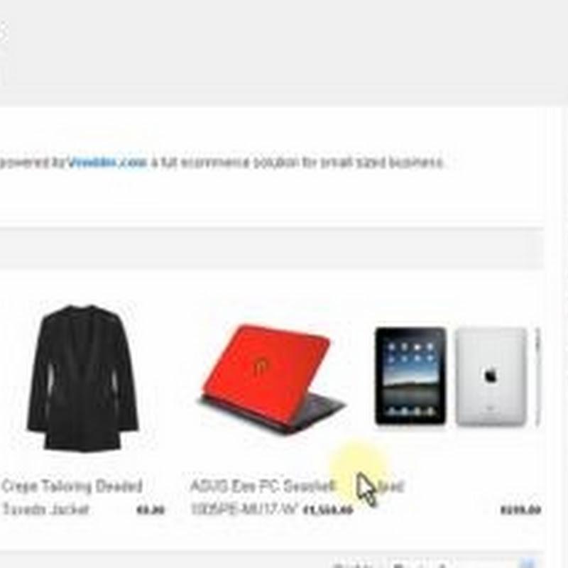 Crea tu propia tienda online con vendder