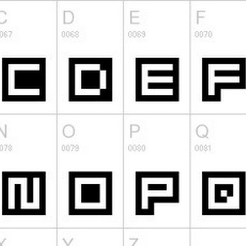 40 geniales fuentes pixeladas para tus diseños