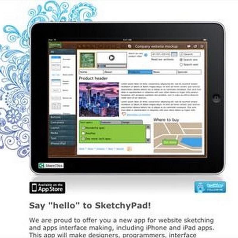 30 inspiradores sitios web de aplicaciones para el iPad