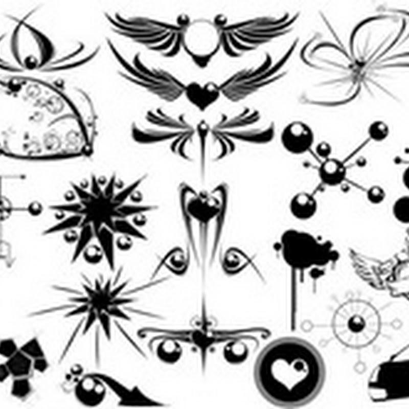 20 fantásticos paquetes de formas para Photoshop