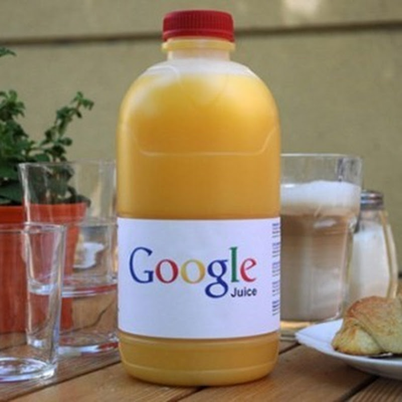 [Imagen de la semana] Google tiene su propio jugo de naranja