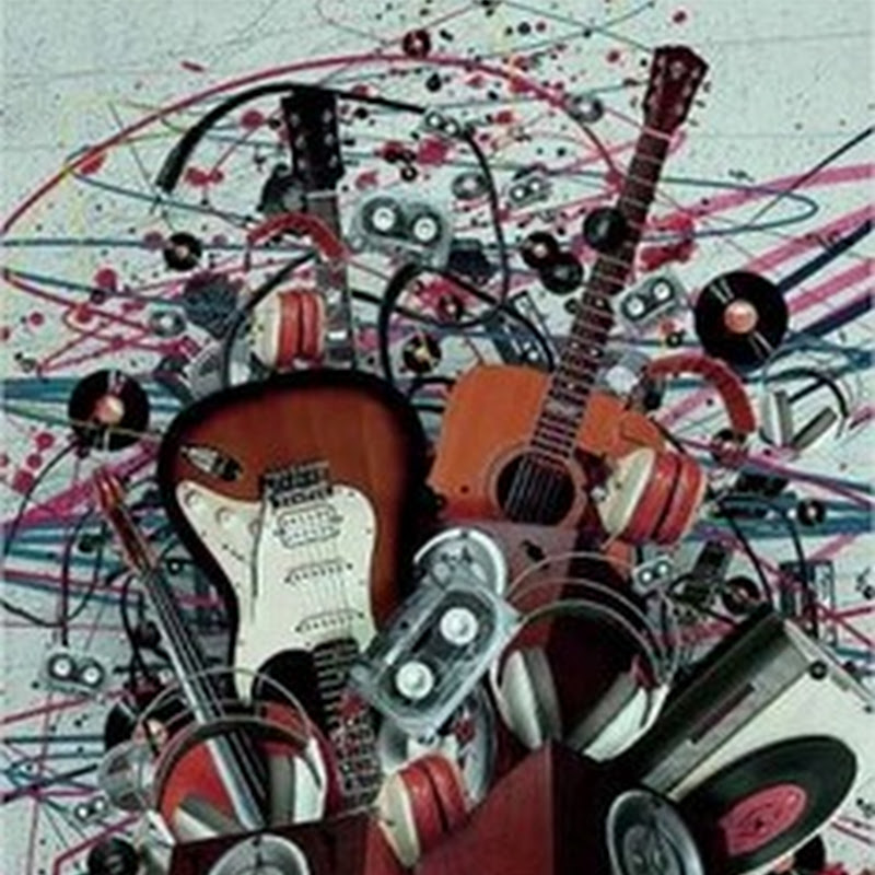 40 impresionantes ilutsraciones dedicadas a la música