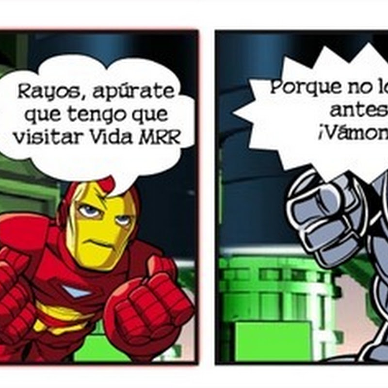 Crea tu propio comic con personajes de Marvel