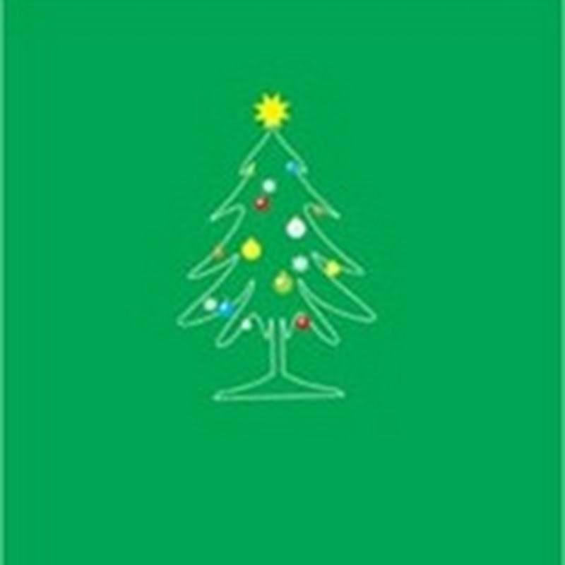 Fondos de pantalla minimalistas para navidad