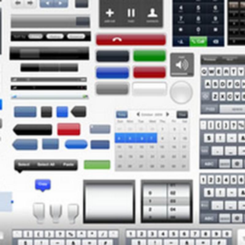 Kit de interfaces de iPhone y iPad para descargar