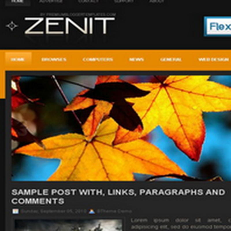 100 impresionantes plantillas para Blogger gratuitas
