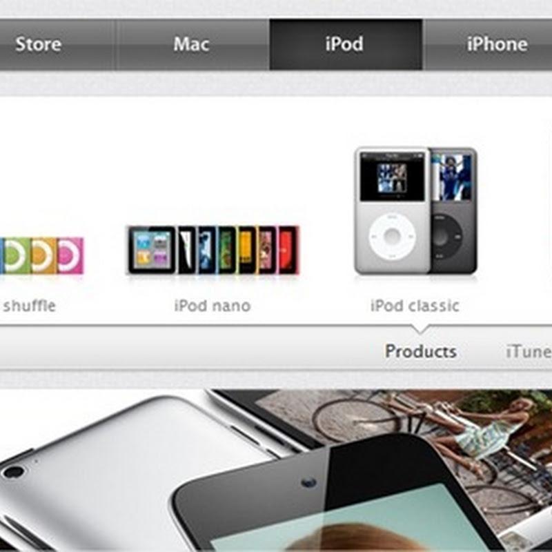 Nuevo diseño del sitio web de Apple