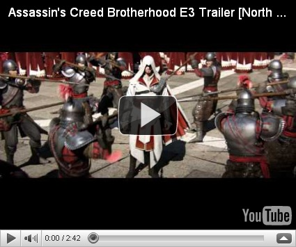 Как запустить assassins creed brotherhood