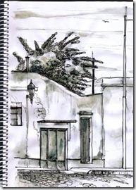 frente casa antigua