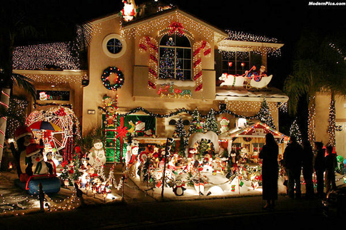 Best Christmas Light Displays in Orange County: Candy Cane Lane | El ...