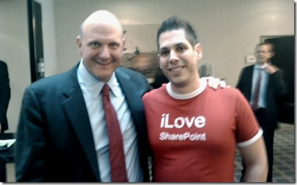 Steve Ballmer and Me