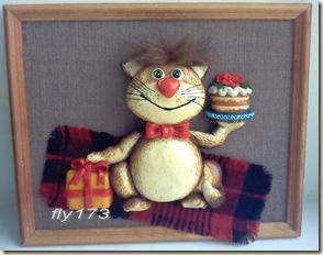 Копия Панно Праздничный Кот
