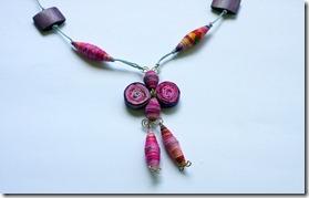 collana di stoffa fucsia-11