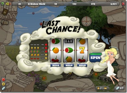 Last Chance slot game