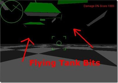destroyed tank