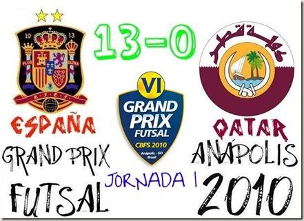 españa 13-0 qatar