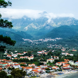 Cloudy day by Cosmin Lita - Landscapes Mountains & Hills ( thassos, clouds, mountain, greece, landscape )