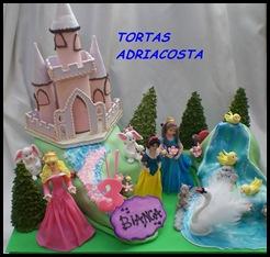 Princesas en su castillo