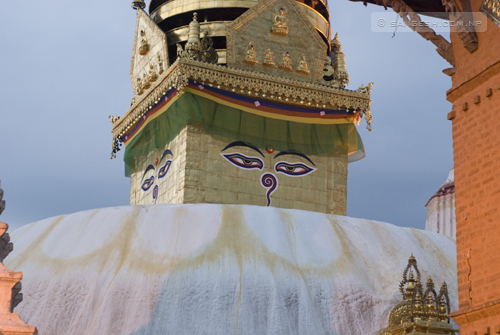 Swayambhunath Temple - Eyes of Peace