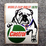 Castrol Promotional sticker featuring my mother in law