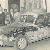UKV701H Entry 39 on the Wordl Cup Rally 1971. Picture courtesy Brian Englefield.