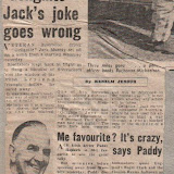 Daily Mirror 20th April 1970 - Gelignite Jack Murray in trouble following a firecracker incident at the start.