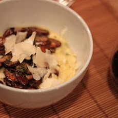 Polenta with Sauteed Mushrooms