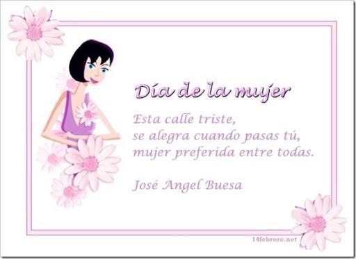 Dia de la mujer 8 de marzo para las Taringueras!