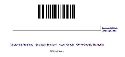 google barcode logo. Google Logo is now a arcode