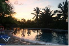 Закат у бассейнов, осень 2007 года