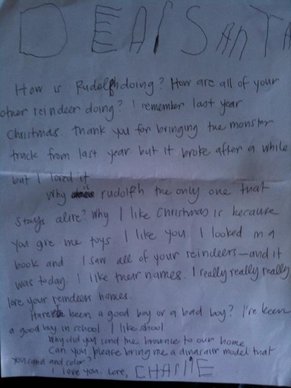 charlie letter