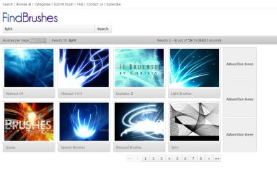 Findbrushes.com - light
