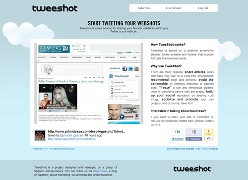TweeShot
