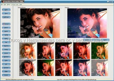 Magic Effect Photo Editor 2009 v.2.1 Portable Gratis Full